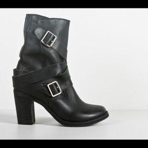 JEFFREY CAMPBELL || NWOB Leather France Boots Sz7